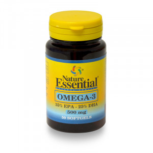 OMEGA-3 500Mg. 50 PERLAS NATURE ESSENTIAL