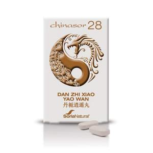 CHINASOR 28 DAN ZHI XIAO YAO WAN 30 COMPRIMIDOS SORIA NATURAL