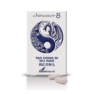CHINASOR 08 TAO HONG SI WU WAN 30 COMPRIMIDOS SORIA NATURAL
