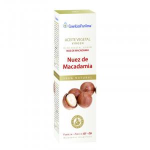 ACEITE VEGETAL DE NUEZ DE MACADAMIA 100Ml. ESENTIAL AROMS