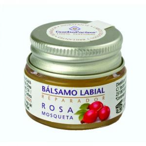 BALSAMO LABIAL DE ROSA MOSQUETA 5Gr. ESENTIAL AROMS
