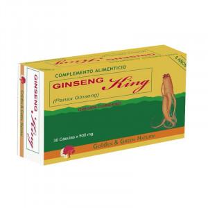 GINSENG - KING 30 CAPSULAS GOLDEN GREEN