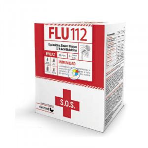 FLU 112 30 CAPSULAS DIETMED