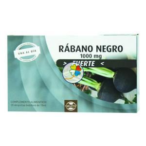 RABANO NEGRO FORTE 20 AMPOLLAS NATURMIL
