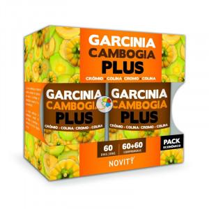 GARCINIA CAMBOGIA 120 (60+60) COMPRIMIDOS NOVITY