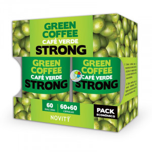 CAFE VERDE STRONG 120 (60+60) CAPSULAS NOVITY