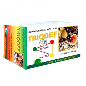 TRIODEF 60 CAPSULAS GOLDEN GREEN