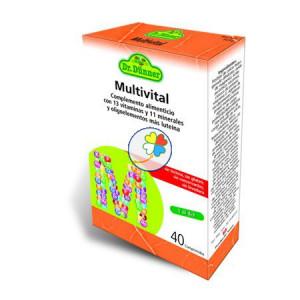 MULTIVITAL 40 COMPRIMIDOS DR. DUNNER