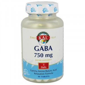 GABA 750Mg. 90 COMPRIMIDOS KAL