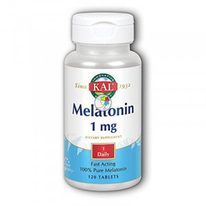 MELATONIN 1Mg. 120 COMPRIMIDOS KAL
