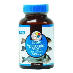 ACEITE DE PESCADO OMEGA-3 35/25 1.000Mg. 60 PERLAS NATURMIL