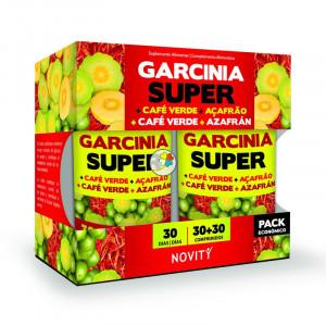 GARCINIA SUPER+CAFE+AZAFRAN 60 (30+30) COMPRIMIDOS NOVITY
