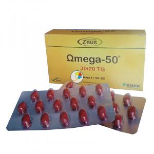 OMEGA-50 30/20 TG 120 CAPSULAS ZEUS