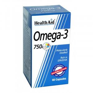 OMEGA 3 750Mg. 60 CAPSULAS HEALTH AID