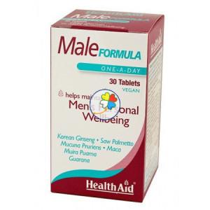 MALE FORMULA 30 COMPRIMIDOS HEALTH AID