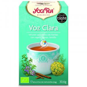 YOGI TEA VOZ CLARA 17 FILTROS