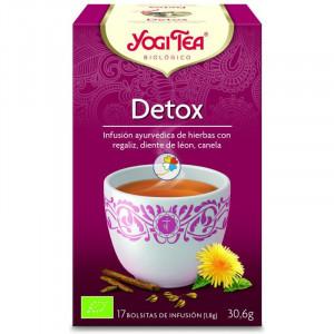YOGI TEA DETOX 17 FILTROS