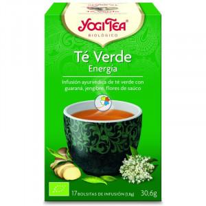 YOGI TEA VERDE ENERGIA 17 FILTROS
