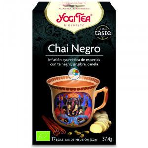 YOGI TEA CHAI NEGRO 17 FILTROS
