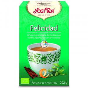 YOGI TEA FELICIDAD 17 FILTROS