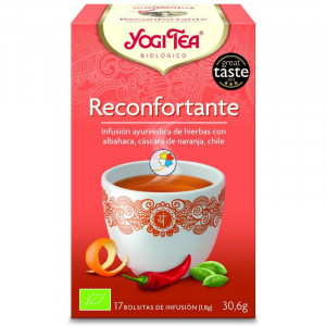 YOGI TEA RECONFORTANTE 17 FILTROS