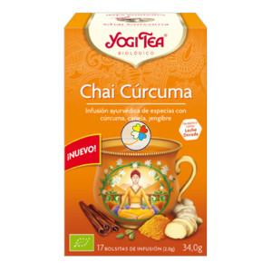 YOGI TEA CURCUMA CHAI 17 FILTROS