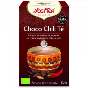 YOGI TEA CHOCOLATE Y CHILI 17 FILTROS