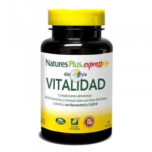EXPRESS VITALIDAD 30 COMPRIMIDOS NATURE´S PLUS
