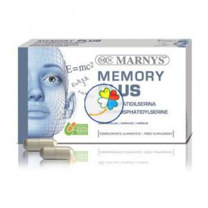 MEMORY PLUS 30 CAPSULAS MARNYS