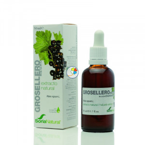 EXTRACTO DE GROSELLERO NEGRO 50Ml. SORIA NATURAL