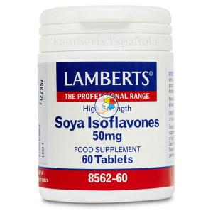 ISOFLAVONAS DE SOJA 50Mg. 60 TABLETAS LAMBERTS