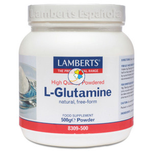 L-GLUTAMINA EN POLVO 500Mg. LAMBERTS