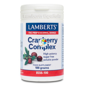 CRANBERRY COMPLEX (FOS+VITC) 100Gr. LAMBERTS