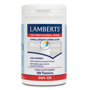 MULTI GUARD CONTROL 120 TABLETAS LAMBERTS