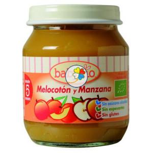 BABYBIO MELOCOTON-MANZANA 130Gr. BABYBIO