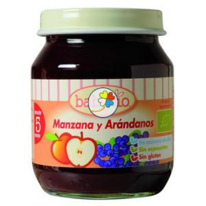 BABYBIO MANZANA-ARANDANOS 130Gr. BABYBIO