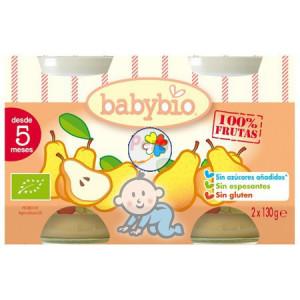 BABYBIO PERA 2x130Gr. BABYBIO