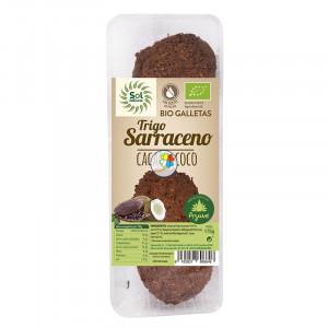 GALLETAS DE SARRACENO, COCO Y CACAO BIO 175Gr. SOL NATURAL