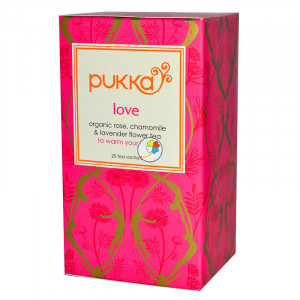 INFUSION LOVE 20 FILTROS PUKKA