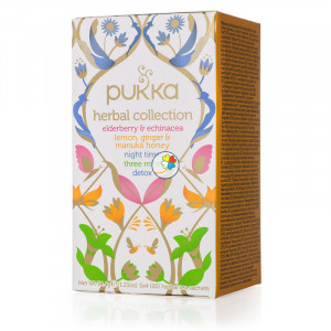 INFUSION HERBAL COLECCION 20 FILTROS PUKKA