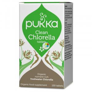 CLEAN CHLORELLA 150 COMPRIMIDOS PUKKA