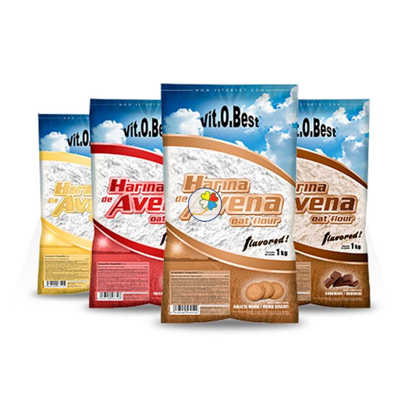 HARINA DE AVENA 1Kg. CHOCOLATE VIT.O.BEST