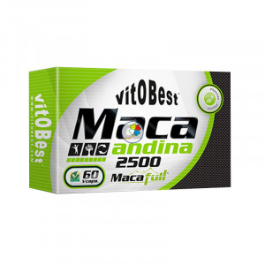 MACA ANDINA 700Mg. - 60 VCAPS. (EQUIVALE 2.500Mg.) VIT.O.BEST