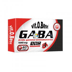 GABA 500Mg. 60 VCAPS. VIT.O.BEST
