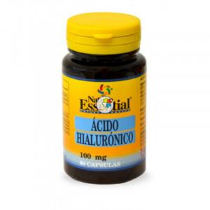 ACIDO HIALURONICO 100Mg. 60 CAPSULAS NATURE ESSENTIAL