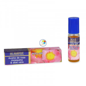 ROLL-ON ROSA MOSQUETA Y ALOE VERA 10Ml. MARNYS
