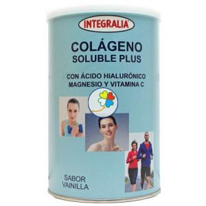 COLAGENO SOLUBLE PLUS VAINILLA 360Gr. INTEGRALIA