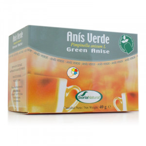 INFUSION ANIS VERDE 20 FILTROS SORIA NATURAL