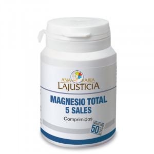 MAGNESIO TOTAL 5 SALES 100 COMPRIMIDOS ANA M. LAJUSTICIA
