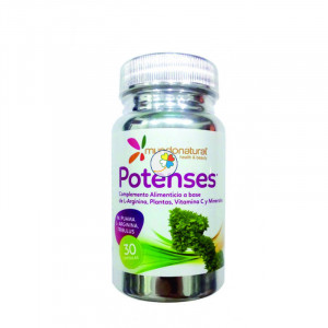 POTENSES 30 CAPSULAS MUNDO NATURAL